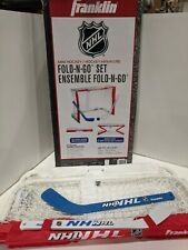Franklin Sports Fold-N-Go Mini Hockey Goal Set
