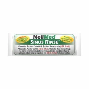 NeilMed Sinus Rinse Saline Nasal Natural Sinus & Allergy Relief sachets No1Brand