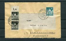 Bedarfsbrief Alliierte Besetzung Bauten 2+16Pfg. Northeim-Mühlhausen - b8117