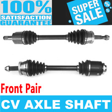 Front 2x CV Axle Shaft for MITSUBISHI 3000GT FWD Manual Automatic Transmission