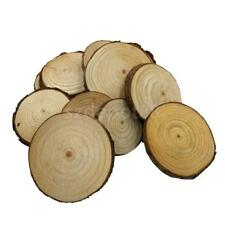 20pcs Natural Wood Log Slices Tree Chic Wedding Table Centerpiece Cake Stand