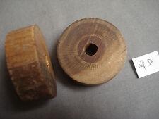 roulette ancienne en bois  de 54 mm de diamètre (réf D )
