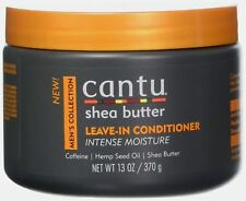 Cantu Shea Butter Men's Collection Leave-In Conditioner Intense Moisture 13 oz