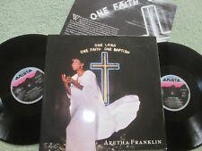Aretha Franklin One Lord, One Faith, One Baptism Arista UK 2x Vinyl LP Album Set