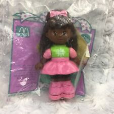 McDonalds Mattel Sally Secrets Paper Punch Doll w Stickers Holiday Sealed Toy