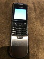 Nokia Slide 8800 - Silver (Unlocked) Smartphone