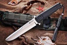 Kizlyar Supreme Trident D2 Satin Blade Tactical Knife Fixed Blade Russian Made