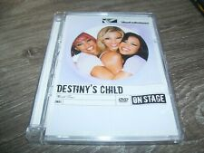 Destiny's Child - World Tour 2003 On Stage * Hardcase DVD 2003 PAL Region 0 ALL