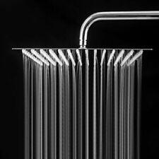 "NEW 16"" Stainless Steel Rain Shower Faucet Replacement 40cm Shower Head Sprayer"