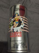 Classique Jean Paul Gaultier edition limitée Rare Eau Fraîche Wonderwoman
