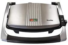 Breville Sandwich Toaster Panini Press Toastie Maker Machine NON - STICK #374662