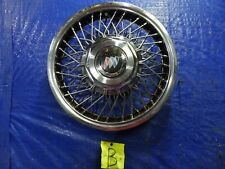 """1986 to 1990 Buick Century locking wire spoke 14"""" inch hubcap wheel cover #B"""
