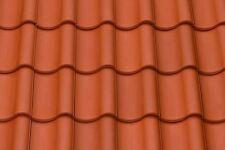 Dachziegel Dachpfannen Tondachziegel  1.Sorte 30 Jahre Garantie Naturrot