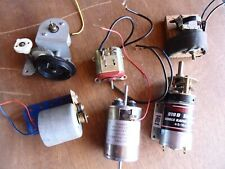 6 VARIOUS ELECTRIC MOTORS FOUND IN MECCANO ALL WORKING