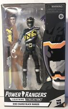 New listing Power Rangers Lightning Collection ~ Dino Charge Black Ranger Exclusive Figure