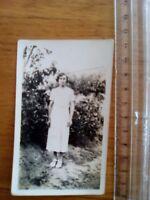 PHOTO années 50 jeune femme