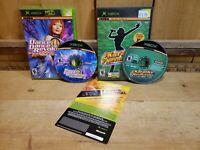 2 XBOX Games Dance Dance Revolution Ultramix 2 & Karaoke Revolution No Manuals
