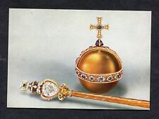 C1960's View of the Sovereign's Orb & Sceptre (Stars of Africa Diamond)