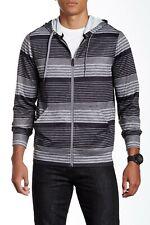 Oakley Men's Sumter Hoodie Full Zipper Sweater Jet Black Size Medium New