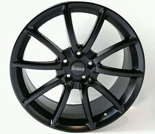 """2005-2017 Ford Mustang 20x9 Satin Black Mamba Front Wheel Rim GT500 Style 20"""""""