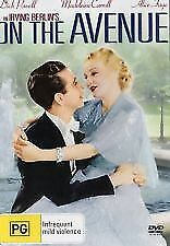 ON THE AVENUE -1937 =DVD =  ALICE FAYE Dick Powell = PAL 4 =SEALED = FREE POST