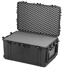 HUGE Mobile Wheeled Waterproof Ip67 Hard Protective Camera Case Trunk With Foam