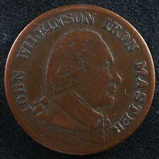 Modern Copy of Halfpenny token 1790 John Wilkinson Iron Master Great Britain