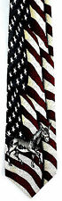 Tango Democrat Donkey Mens Silk Necktie Americana Flag Political Neck Tie New