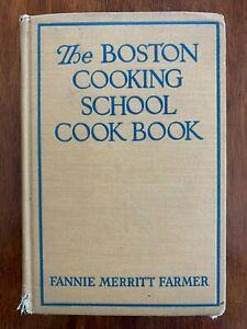The Boston Cooking School Cookbook 1945 7th Ed. Fannie Merritt Farmer Hardcover