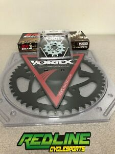 Vortex KTM 250 350 450 SX SXF XCF Chain Sprocket Kit 13/51