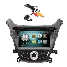 "8"" Car DVD Player GPS Navigation Radio+Rear Camera for Hyundai Elantra 2014 T9I4"
