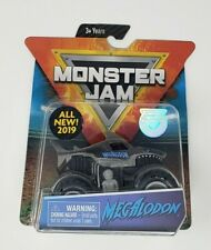 MEGALODON * GRAY BODY Edition * Truck (2019 Spin Master MONSTER Jam) 1:64