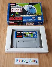 Super Nintendo SNES Sensible Soccer PAL