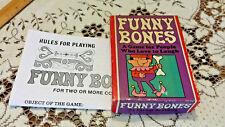 1968 Parker Brothers No 40 FUNNY BONES GAME Complete