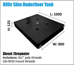 80LTR DIESEL TANK UTE UNDERTRAY 4X4 MOUNT. AUSSIE MADE. ASK FOR FREIGHT PRICES