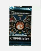 2019-20 (1) Panini Chronicles Basketball Sealed Blaster Box Pack Chase JA & ZION
