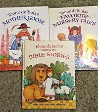 Tomie Depaola's Favorite Nursery Tales + Mother Goose + Book of Bible Stories