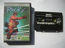ROCKY Gremlin Graphics  ZX Spectrum Sinclair ottime condizioni