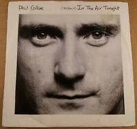 "Phil Collins : In The Air Tonight : Vintage 7"" Vinyl Single from 1988"