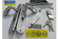 ROEASY STAINLESS STEEL DOOR LOCK Lever Handle Mortise Lock anti theft LOCK CORE