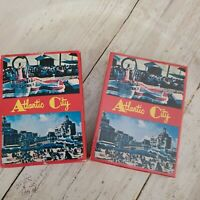 2 packs of Atlantic City playing cards one sealed one opened cards