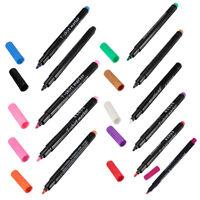 1 x pennarelli in tessuto colori permanenti per scarpe t-shirt abbigliament K6I7