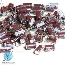 Lot de 4 X Qualité Nichicon 15uf condensateur électrolytique 10 ⌀ x16mm 200 V Radial