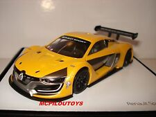 NOREV RENAULT  SPORT R.S 01 OFFICIAL YELLOW PRESENTATION VERSION 2015 au 1/43°