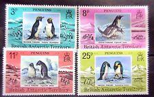 British Antarctic Territory 1979 Penguins Set. MNH.