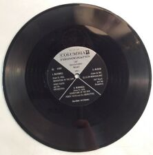 "360 Demonstration Record 78 RPM 10"" Record Columbia Phonographs ShopVinyls.com"