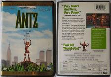 ANTZ WOODY ALLEN DREAMWORKS REGION 1 NTSC DVD