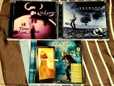 Enchant 3 Cd studio album lot Time Lost Tug Of War Prog Rock Rush Porcupine Tree