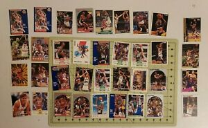Lot Of 36 Random NBA Basketball Cards, Mix of SW Teams- Hakeem the dream