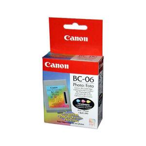 Original Canon BC-06 BC06 Photo Foto BJC-240 ------------- in OVP